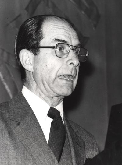 Juan Marichal. Conferencia sobre La recuperación intelectual del liberalismo español (1909-1923) dentro del ciclo El intelectual y la política: tres décadas españolas (1909-1939)