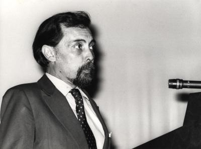 Rafael Salinas Calado. Conferencia sobre El significado del azulejo en Portugal. Conferencia inaugural de la Exposición Azulejos portugueses