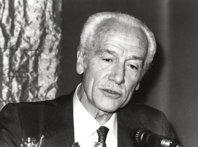 Paulino Garagorri. Conferencia en el curso Liberales españoles contemporáneos