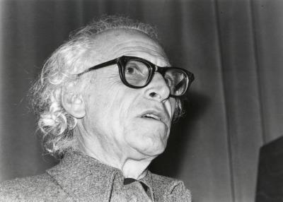 Harry Holtzman. Conferencia sobre Mi amigo Piet Mondrian. Conferencia inaugural de la Exposición Piet Mondrian dentro del ciclo Cuatro lecciones sobre Mondrian