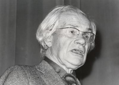 Max Bill. Conferencia sobre Mondrian y el espacio dentro del ciclo Cuatro lecciones sobre Mondrian