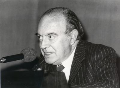 Ramón Xirau. Conferencia sobre Los españoles en América dentro del ciclo Cultura española de postguerra en el exilio americano