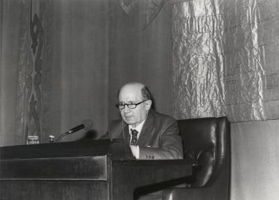 Emilio Lorenzo en el ciclo Goethe y España