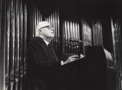 Santiago Kastner en el Concierto-Homenaje a Santiago Kastner