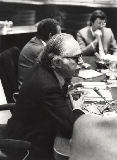 Bernard Schwartz en el Seminario sobre Autonomías Territoriales