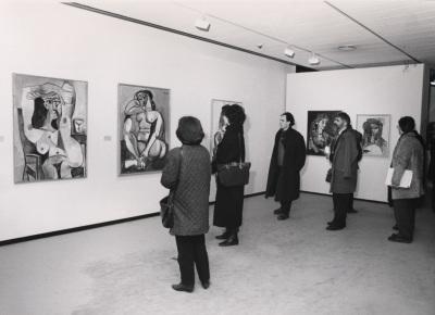 Vista parcial de la exposición Picasso Retratos de Jacqueline