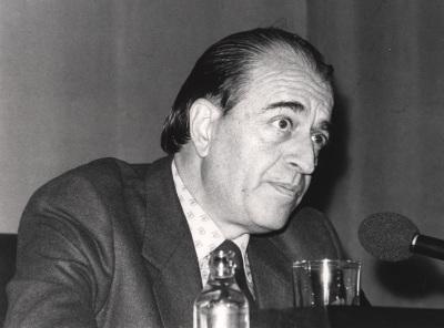 Ramón Barce. Conferencia sobre Arnold Schönberg dentro del ciclo Cuatro conferencias sobre La Escuela de Viena