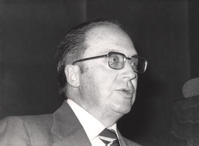 Enrique Sánchez-Monge. Conferencia sobre La ingeniería agronómica: Miguel Odriozola dentro del ciclo La ingenieria española en el siglo XX