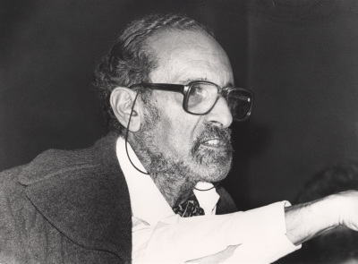 Ernesto Sousa. Conferencia sobre Almada en Madrid dentro del ciclo Almada Negreiros y el futurismo portugués