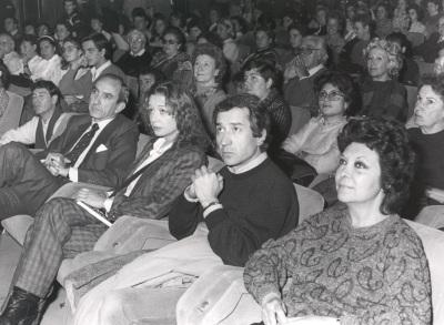 Fernando Fernán Gómez. Conferencia sobre El actor y los demás dentro del ciclo Teatro Español del siglo XX