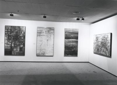 Vista parcial de la exposición Vieira da Silva