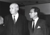 Arnaud de Hauterives y Henri Benoit de Coignac. Exposición Monet en Giverny Colección Museo Marmottan de París