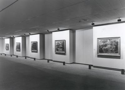 Vista parcial de la exposición Monet en Giverny Colección Museo Marmottan de París