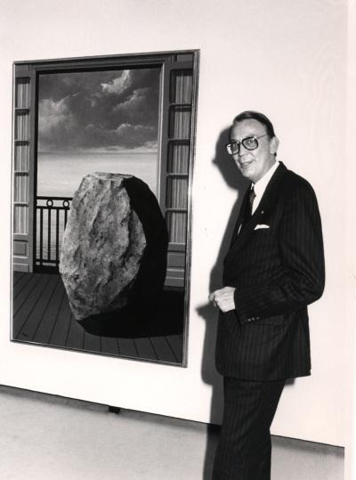 Pierre Grafe. Conferencia sobre El misterio de lo cotidiano. Conferencia inaugural de la Exposición Magritte