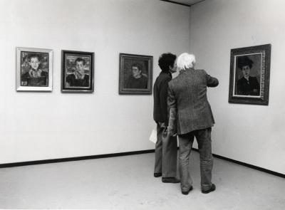 Vista parcial de la exposición Alexej von Jawlensky