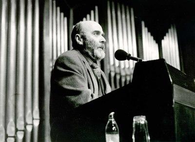 Luis de Pablo en la presentación del Concierto Monográfico sobre su obra
