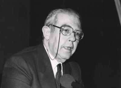 Antonio Truyol Serra. Conferencia sobre La Europa de Yalta dentro del ciclo El fin de Yalta