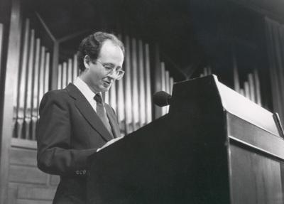 José Luis Turina en el estreno de su obra Cuarteto con Piano