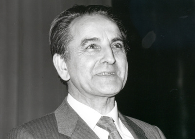 Alfredo Morán en la presentación de su libro Joaquín Turina, a través de otros escritos