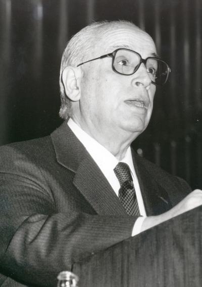 Enrique Franco Con en la presentación del libro Joaquín turina, a través de otros escritos