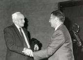 Severo Ochoa y Paul Berg. Conferencia Recombination as a Means for Modifying and Repairing Mammalian Genes - Alteraciones del genoma , 1992