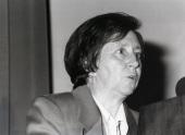 Margarita Salas. Conferencia Ingeniería de la resistencia a enfermedades en plantas - Alteraciones del genoma , 1992