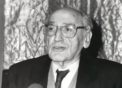 Carlos Bousoño. Conferencia sobre El Cántico de Jorge Guillén y el expresionismo dentro del ciclo Cuatro lecciones sobre Jorge Guillén en su centenario