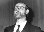 Jesús Marín en el XII ciclo de Conferencias sobre Biología, 1993