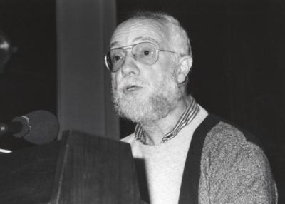 Josep Soler en el estreno de su obraMater Dolorosa