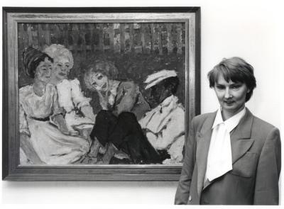 Magdalena M. Moeller. Exposición Arte expresionista alemán Brücke - Cuatro lecciones sobre el 'Puente'