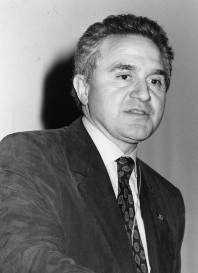 José María Mato en la presentación de la edición europea de la revista Science