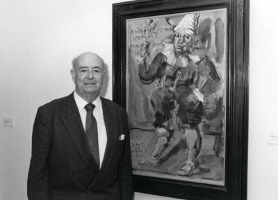 Julián Gállego. Conferencia sobre Los tres grandes temas de Georges Rouault. Conferencia inaugural dentro del ciclo En torno a Rouault