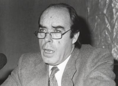 Domingo Yndurain. Conferencia sobre Al aire de tu vuelo dentro del ciclo La poesía de San Juan de la Cruz (1997)