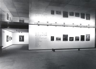 Vista parcial de la exposición Museo Brücke Berlín Arte Expresionista Alemán