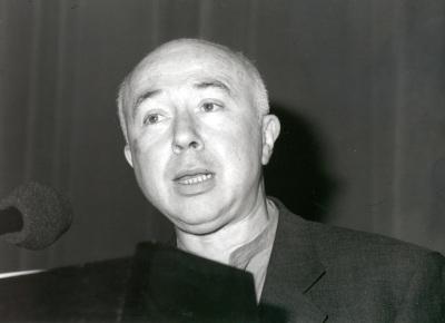 Jacques Söjcher. Conferencia sobre Paul Delvaux o el teatro de una obsesión. Confrencia inaugural de la Exposición Paul Delvaux