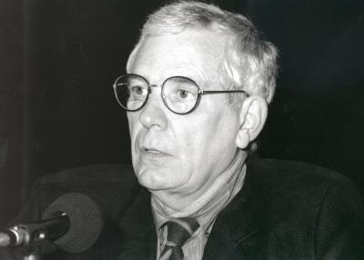 Víctor Nieto Alcaide. Conferencia sobre Historiografía de la vanguardia en España (1940-1963) dentro del ciclo Un siglo de Historia del Arte en España