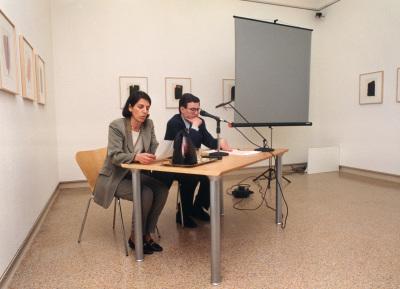 Sofía Barroso y Juan Manuel Bonet conferencia con motivo de la exposición José Guerrero