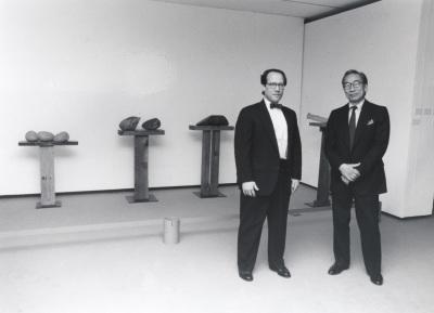 Bruce Altshuler y Shoji Sadao. Exposición Noguchi