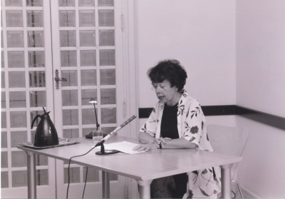 Sabine Fehlemann. Visita con motivo de la exposición De Caspar Friedrich a Picasso. Obras maestras sobre papel del Museo de Wuppertal