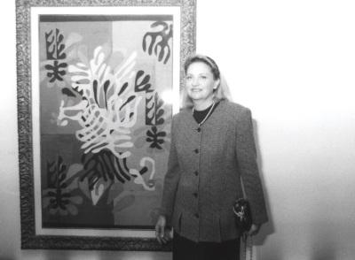 Marie Thérèse Pulvenis de Séligny. Conferencia sobre Matisse: el espíritu de una obra. Conferencia inaugural de la Exposición Matisse: Espíritu y sentido (Obra sobre papel) dentro del ciclo Cinco lecciones sobre Matisse
