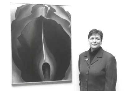 Lisa Messinger. Exposición 'Georgia O'Keeffe. Naturalezas íntimas