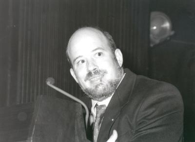 Ignacio Martínez. Conferencia sobre La evolución del lenguaje dentro del ciclo Origen y evolución del hombre