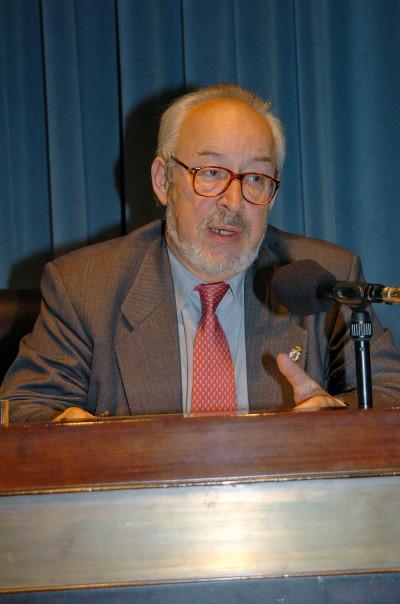 Antonio Gallego Gallego. Conferencia sobre La música española, de nuevo en el mundo dentro del ciclo El esplendor de la música española (1900-1950)