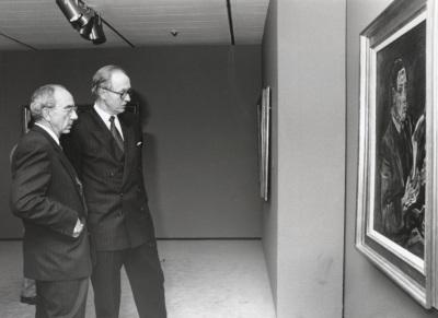 José Luis Yuste Grijalba y Richard Wotawa. Exposición Klimt, Kokoschka, Schiele Un sueño vienés (1898-1918)