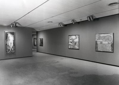 Vista parcial de la exposición Klimt, Kokoschka, Schiele Un sueño vienés (1898-1918)