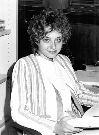 Patricia Salama Rodríguez. Estudiante. Curso 1987-88