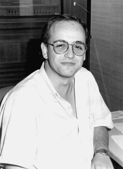 Juan Carlos Rodríguez Pérez. Estudiante. Curso 1987-88