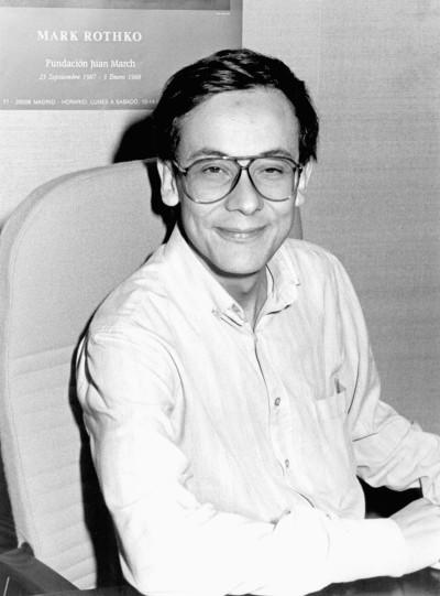 Modesto Escobar. Profesor de curso. Curso 1987-88