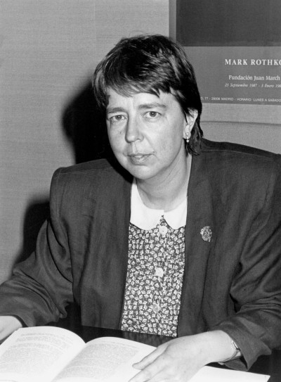 Jimena García-Pardo. Profesora. Curso 1987-88