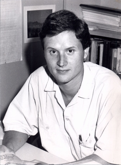 Fernándo Jiménez Sánchez. Estudiante. Curso 1988-89